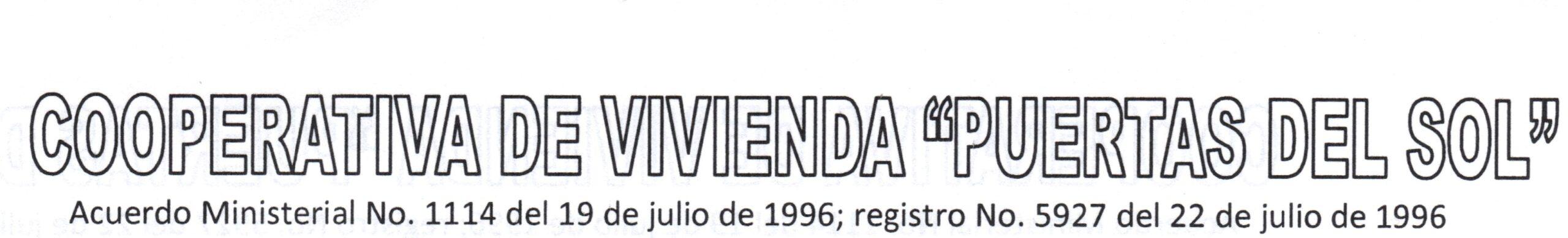 3 - COOPERATIVA DE VIVIENDA PUERTAS DEL SOL
